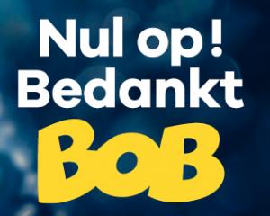 Bedank jij BOB ook tijdens de eindejaarsfeesten?